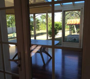 gite de la motte angles veranda