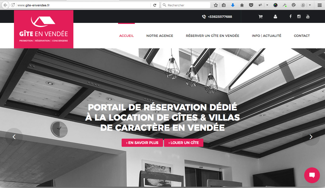 plateforme location gite en vendee france