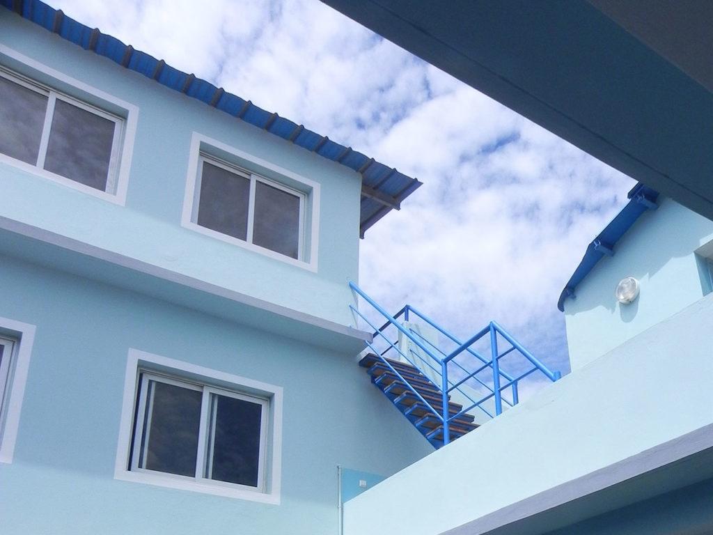 chambre hote maison bleue