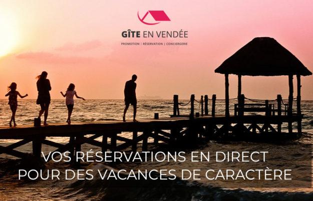 Lancement de communication   Gîte en Vendée