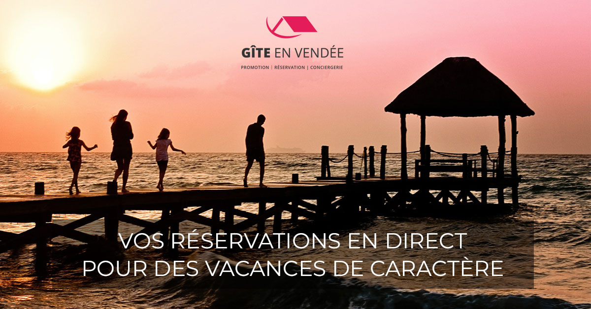 Lancement de communication | Gîte en Vendée