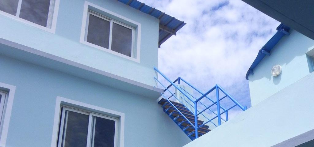 maison bleue dakar
