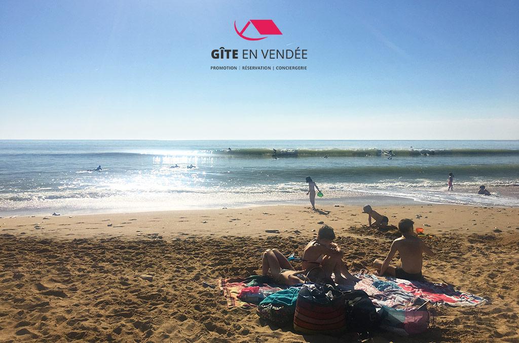 plage surf longeville-sur-mer