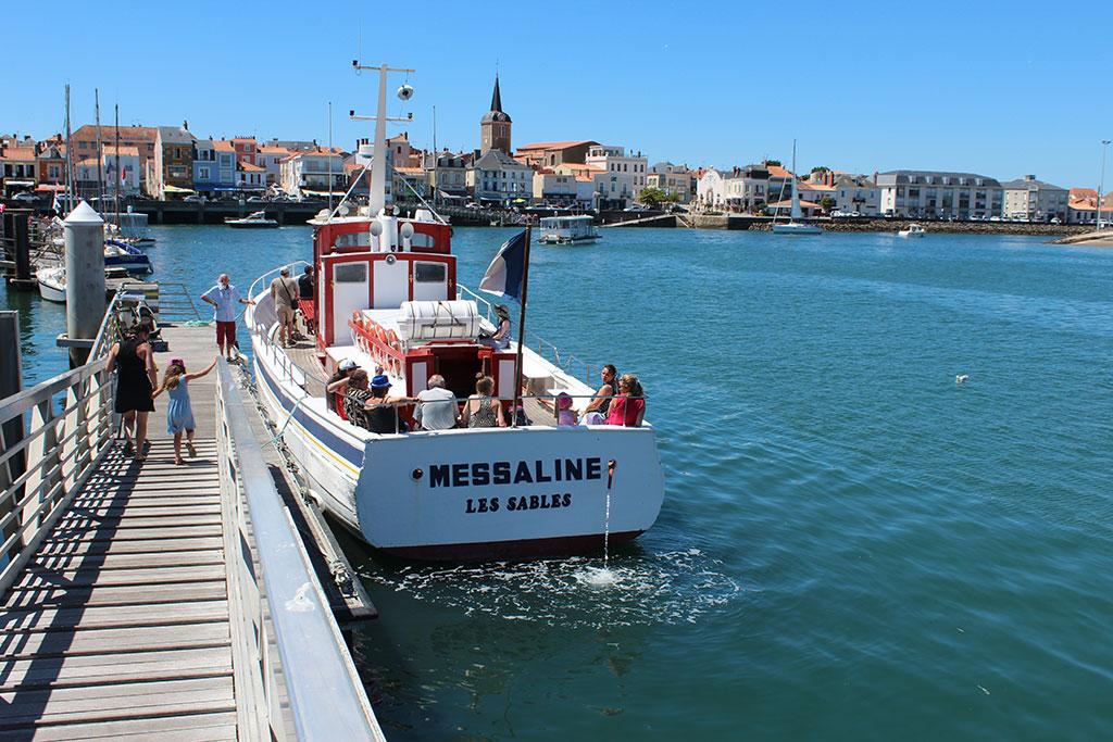 Bateau de pêche la Messaline