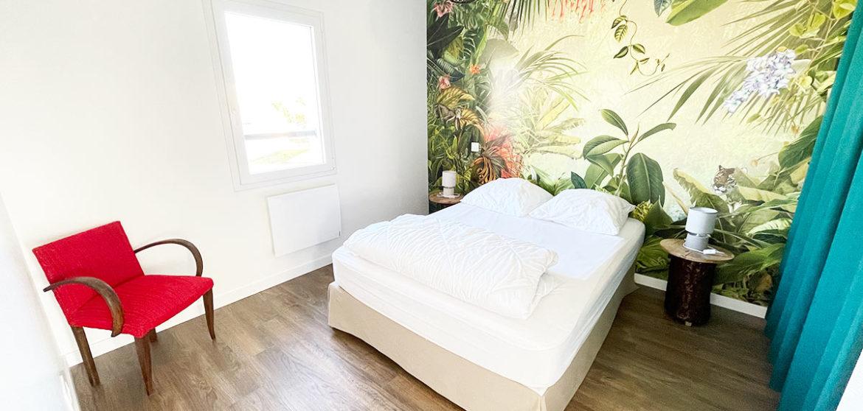 location gite casa beach longeville sur mer chambre 1