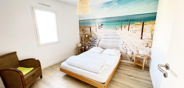 location gite casa beach longeville sur mer suite parentale