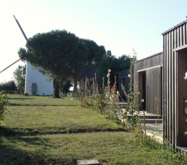 Loge du meunier jardin