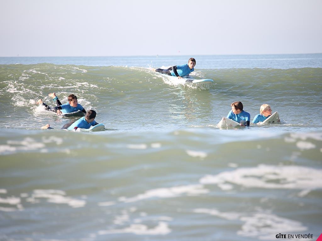 idee sejour gite surf en vendee