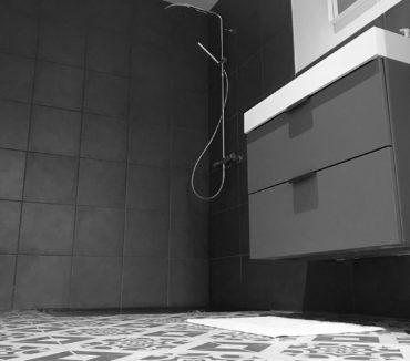 gite l'étable graphique longeville-sur-mer salle de bain