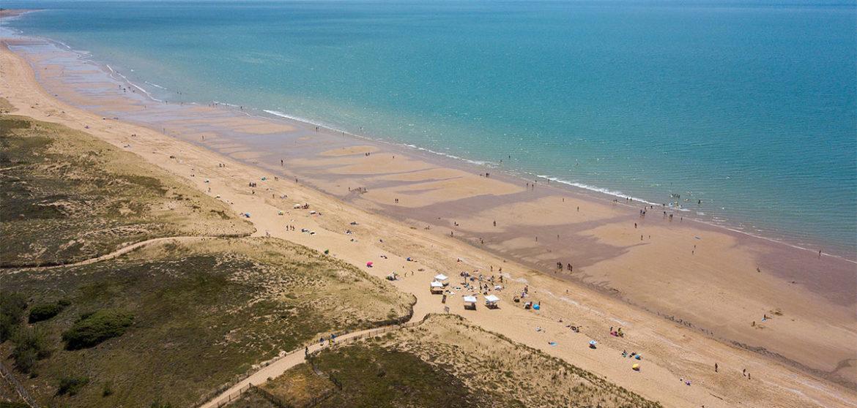 location gite etable graphique plage budbud beach longeville-sur-mer