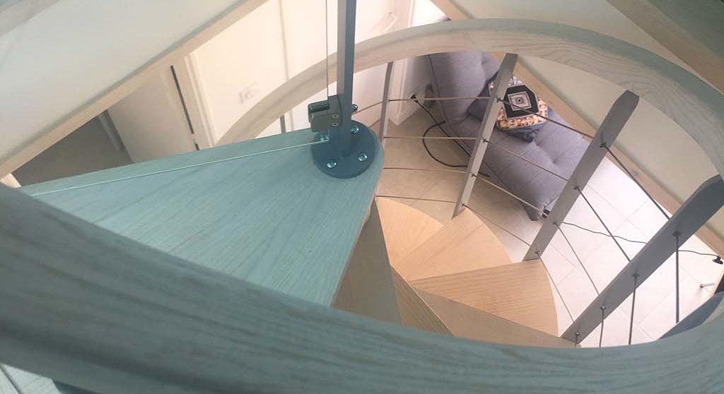 location maison nid ete la faute sur mer escalier