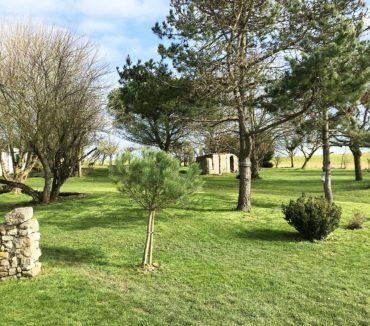 location gite la tisonniere jardin longeville-sur-mer