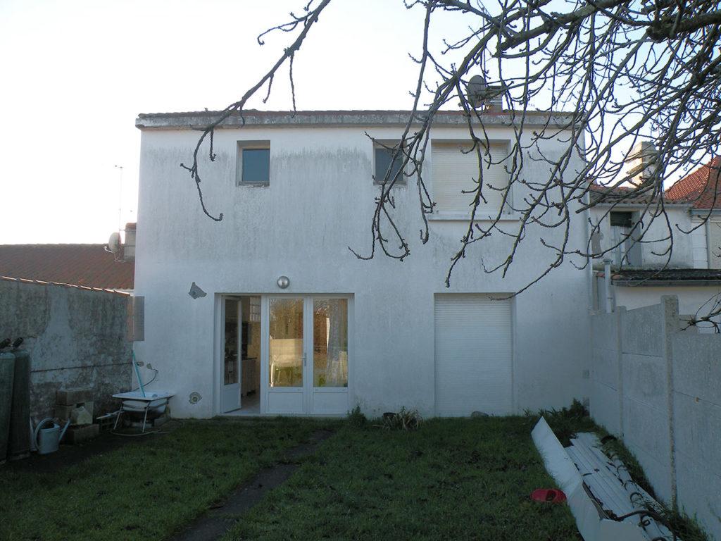 optimisation maison en villa l aiguillon-sur-mer jardin avant