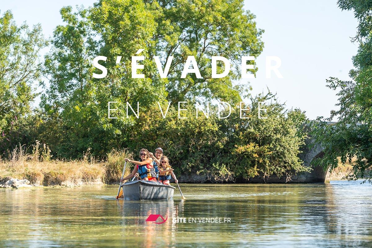 balade canoe marais poitevin longeville