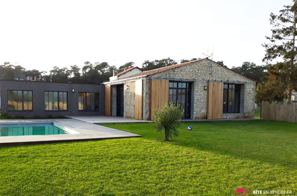 location maison vacances avec piscine longeville-sur-mer