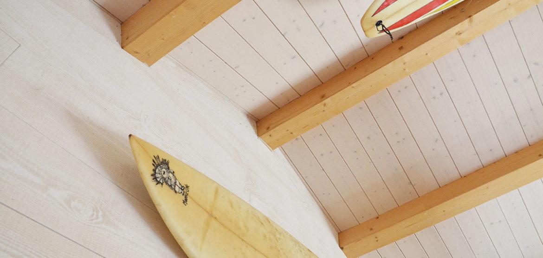 location gite le chalet les conches longeville-sur-mer deco surf