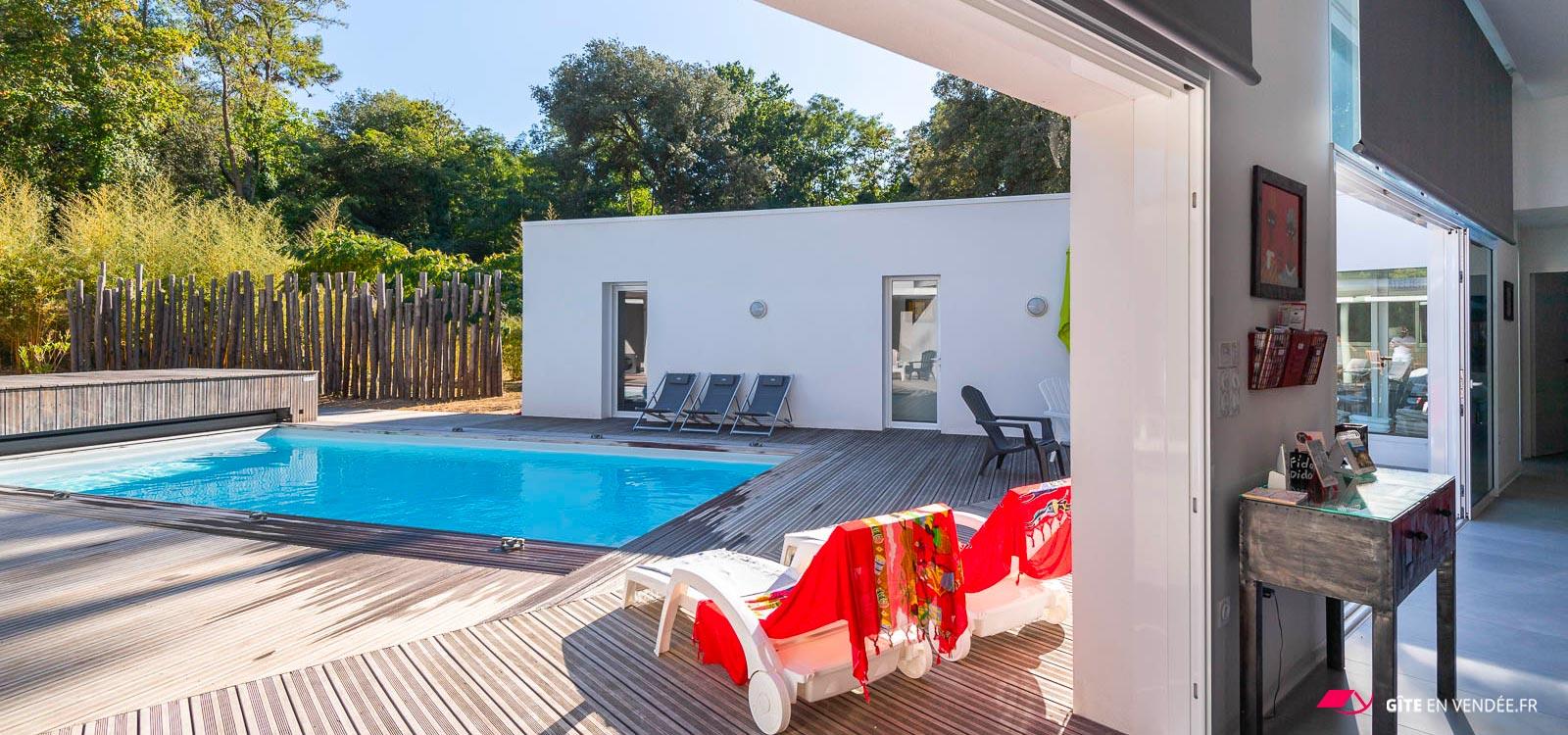 location villa a avec piscine spa longeville-sur-mer home